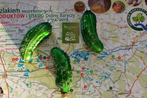 Ogórki na mapie