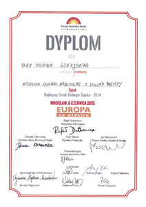 Dyplom Europa na widelcu