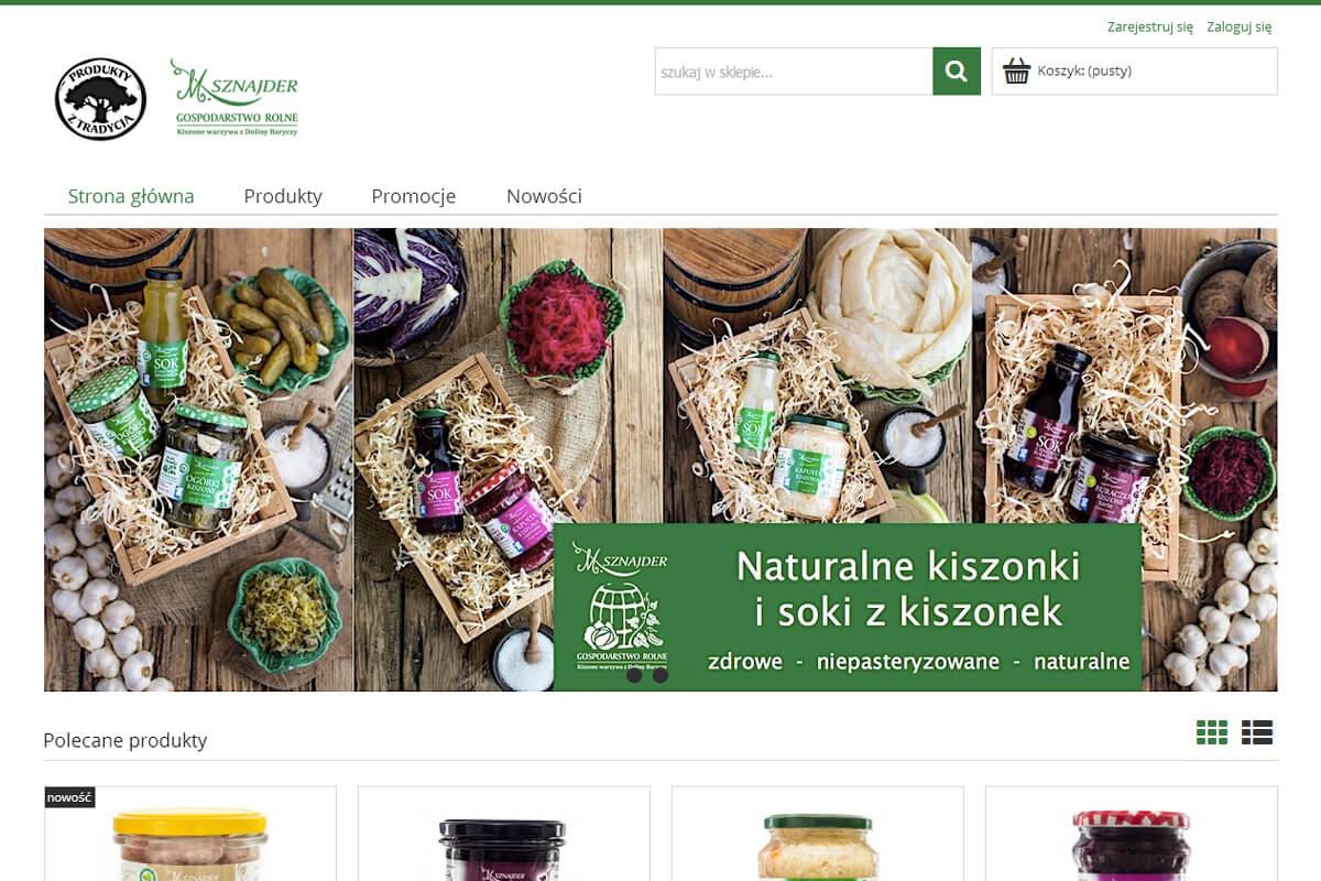 be98a999ff5307 Nasz nowy sklep internetowy | Gospodarstwo Rolne M. Sznajder