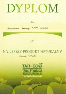 TAR-ECO - Najlepszy Produkt Naturalny